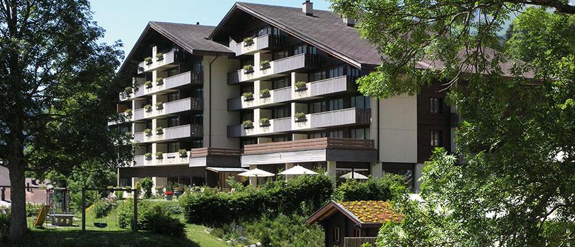Hotel Sunstar, Grindelwald, Bernese Oberland, Switzerland - exterior summer 2.jpg
